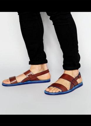 Кожание боссоножки сандали от ted baker,45,46рр