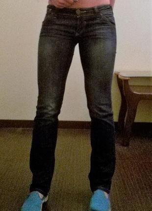 Темно-синие джинсы only