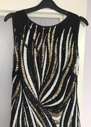 Шикарне плаття / платье, паетки, вечернее платье, миди, длинное