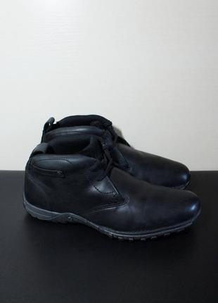 Оригинал cat - caterpillar footwear encompass hi black p712895 clarks ботинки  кожа