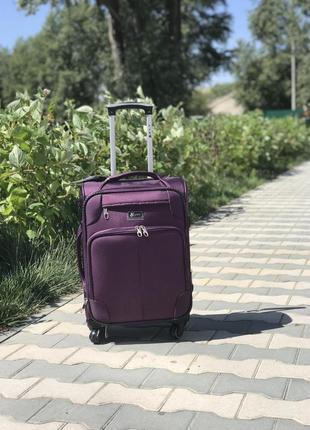 Распродажа! маленький текстильный чемодан тканевый ручная кладь польша / валіза маленька