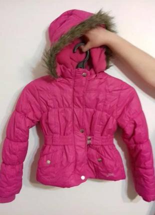 Jubel  оригинал детская куртка курточка на рост 128 на 7 8 9 лет