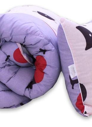 Гіпоалергенна ковдра та подушки cats, одеяло
