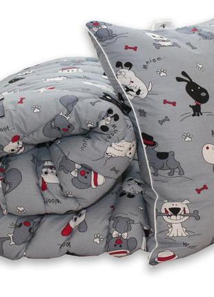 Гіпоалергенна ковдра та подушки dogs