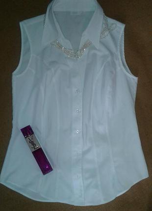 Рубашка безрукавка от marks&spencer