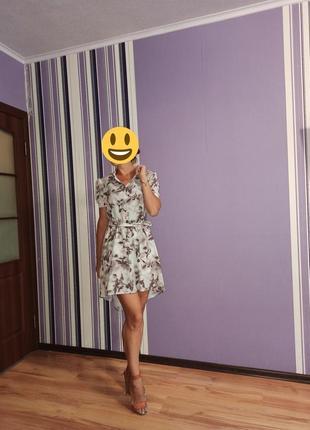 Нереально красивое,легкое платье