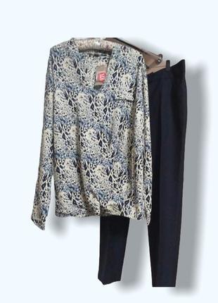 Блуза на запах из приятной вискозы