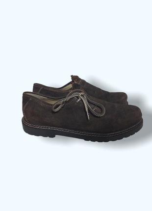 Замшевые мужские туфли мокасины