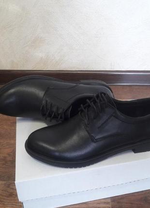 Осенние кожаные туфли р.36-41