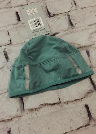 Беговая спортивная шапка унисекс шапочка со светоотражающими элементами спорт