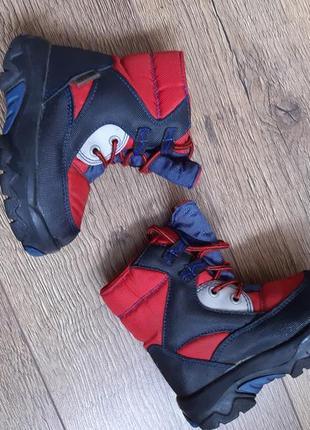 Фирменные крутые сапоги ботинки max dry