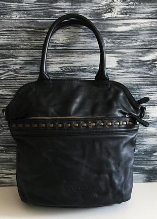 Кожаная сумка liebeskind