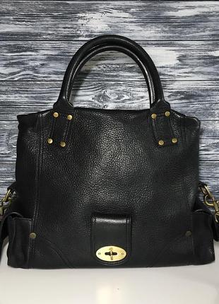 Женская сумка кожаная mulberry