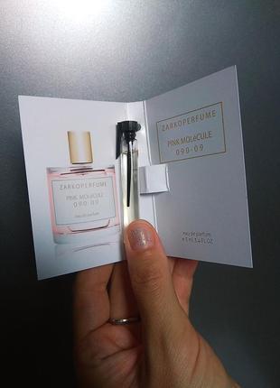 Духи парфюм аромат распив отливант pink molecule 090.09 от zarkoperfume пробник 5мл
