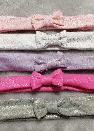 Набор красивенных повязочек на голову для девочки