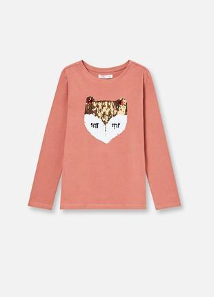 Реглан для девочки с лисичкой производитель fox&banny, польша.