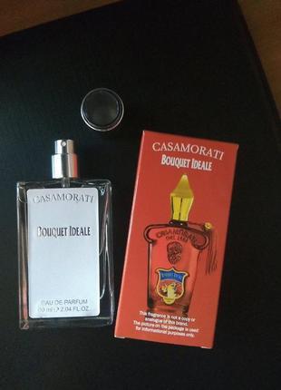 Духи парфюм аромат парфюмированный спрей casamorati bouquet ideale от xerjoff тестер 60мл