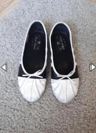 Кожаные балетки от adidas