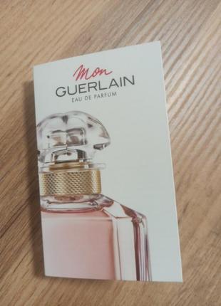 Guerlain mon guerlain парфюмированная вода пробник оригинал