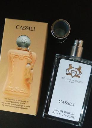 Духи парфюм аромат парфюмированный спрей cassili от parfums de marly тестер 60мл
