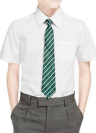 Рубашка школьная для мальчика f&f англия размер 15-16 ле