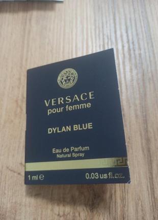 Versace dylan blue парфумована вода
