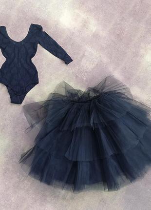 Праздничный костюм-платье темного ангела малифисенты юбка пачка