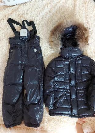 Зимний пуховой костюм moncler