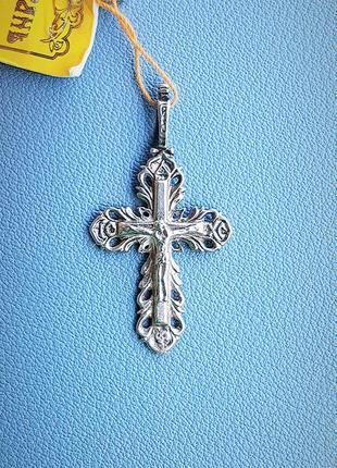 Крест серебряный 3.75 гр