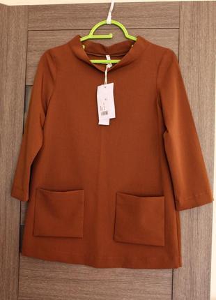 Блуза, туника imperial  xs люксовый бренд с биркой, супер цена✅✅✅✅
