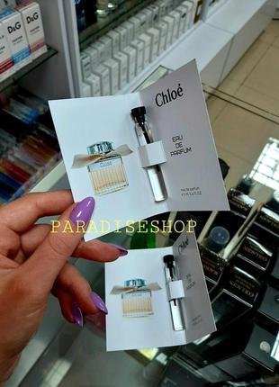 Пробники / духи / парфюм / парфуми жіночі chloe parfum !