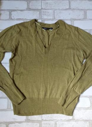 Кофта пуловер atmosphere женская оливкового цвета