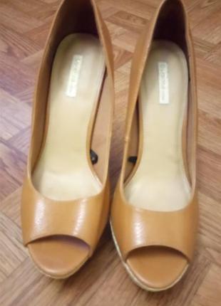 Туфли с открытым носком bershka