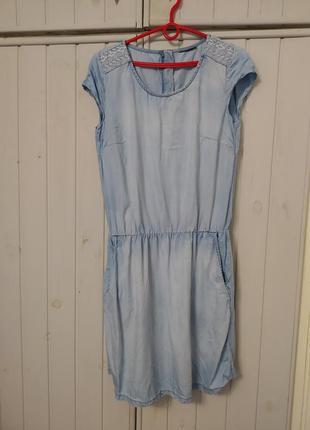 Плаття платье сукня casual джинсовое котоновое