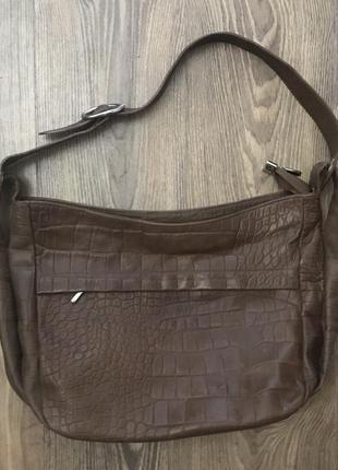Женская кожаная сумка италия.