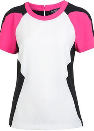 Яркая футболка miss selfridge