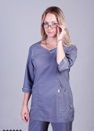 Костюм медицинский, батист, р. 40-60; женская медицинская одежда, 892228
