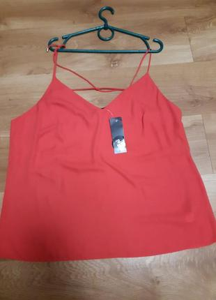 Новая шикарная блуза -топ