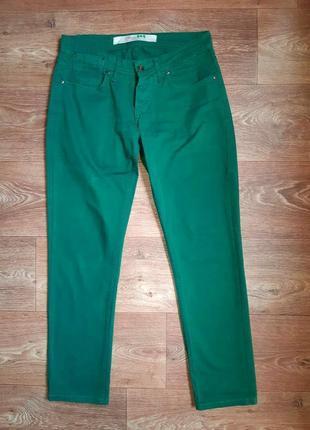 Повседневные котоновые брюки на невысокий рост, р. m