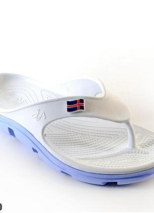 Вьетнамки женские, белые, р. 36 - 41, медицинская обувь,118200