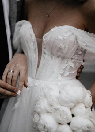 Свадебное платье 2020 dominis milla nova2 фото