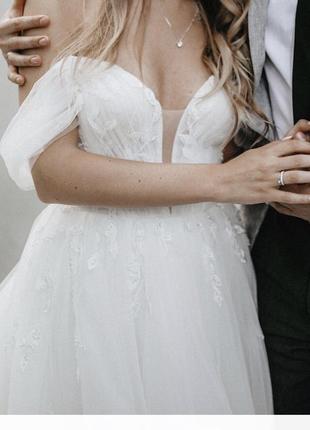Свадебное платье 2020 dominis milla nova3 фото