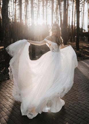 Свадебное платье 2020 dominis milla nova4 фото
