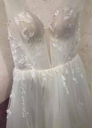 Свадебное платье 2020 dominis milla nova6 фото