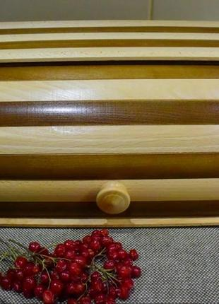 Хлібниця дерев'яна