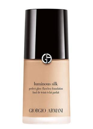 Тональный крем giorgio armani luminous silk foundation 3.5 light warm