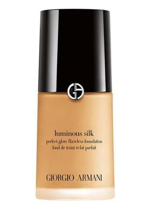 Тональный крем giorgio armani luminous silk foundation 5.8 medium pink