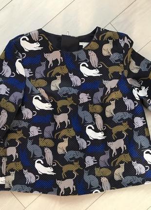 H&m. блузка на застежке.