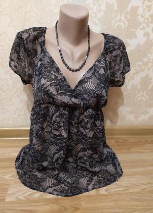 Блузка oggi, футболка, кофта, s-m