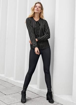 Обалденные треггинсы брюки со стрейч вставками s 38 евро тсм tchibo.